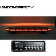 1,5 м 59 дюймов длинная по FedEx! ECE R65 одобренный светодиодный световой индикатор для грузовиков Янтарный стробоскоп предупреждающий бар, 126 шт 1 Вт Светодиодный s, DC12V или 24 В