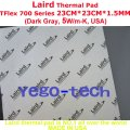 Free Shipping + Best Thermal Silicon Pad 23CM*23CM*1.5MM, Tflex 700 Series Gap Filler Material, Made In USA