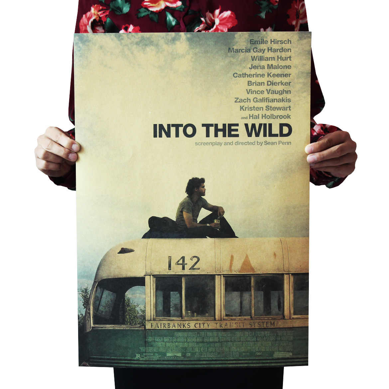 Dlkklb الفيلم المشارك الرجعية الزينة Vintage أنيمي الملصقات يطبع غرفة المعيشة اللوحة الزخرفية الأساسية كرافت ورقة ملصقات جدار