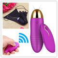 Female clit vibrating underwear vagina massager Wireless Remote Vibrating Egg Rechargeable Sex Toy clitoris Vibrator For Women