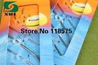 7PSC NEEDLES WITH NEEDLE THREADER An assorted pack of hand sewing needles for general everyday sewing needs leather neddle