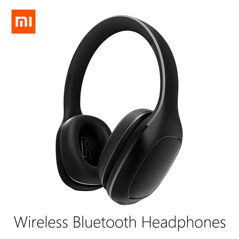 Original Xiaomi Mi Wireless Headphones Bluetooth Headset APT - X Music Player support Volume Control Xiaomi bluetooth headphone mi headphones comfort white