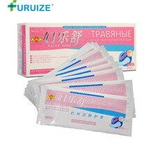 10pcs Fuleshu Herbal Pad Feminine Hygiene gynecological pad made of Traditional Chinese Herbal panty liner Female Health Pads