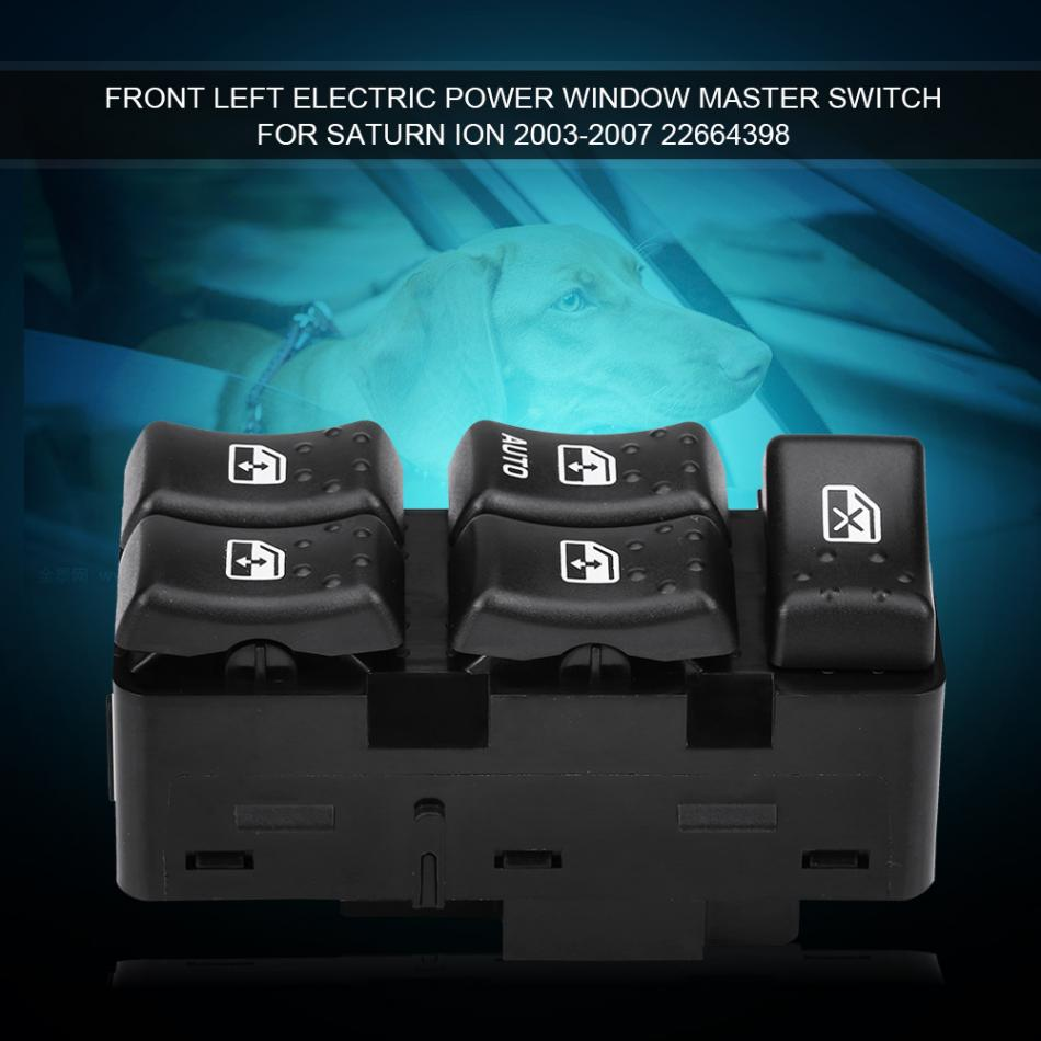 Electric Power Window Switch For VW Golf Jetta MK5 MK6 Passat CC Black 5ND 959 857 Car-styling