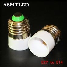 Converter-Socket Light-Bulb Base-Type-Adapter E14-Lamp-Holder Fireproof-Material E27