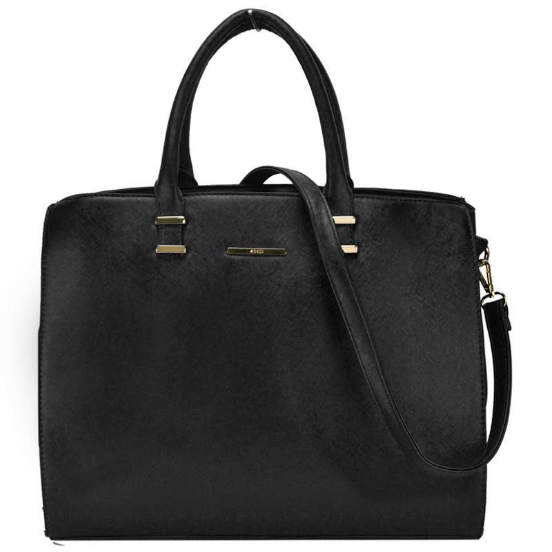 Oversize Classic Women Bag Fashion Style Solid Lady Handbag PU ... 9804cf73ce