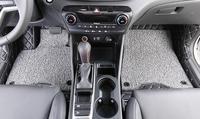 Роскошные черные автомобильные коврики под заказ  подходят для Hyundai Tucson 2015  автомобильный Стайлинг  авто напольный коврик  автомобильные ак...
