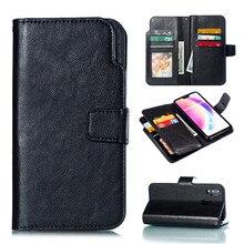 Лучший!  Кожаный чехол для телефона кошелек для Samsung Galaxy S10 S10 lite S10 PLUS панель мобильного