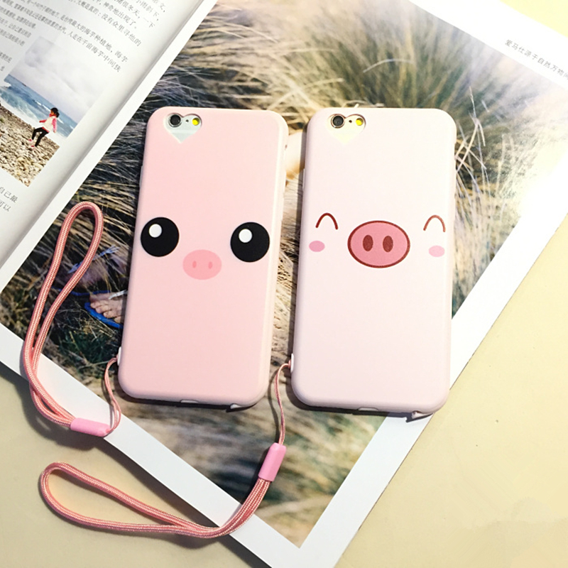 Cute Pig Wallpaper Hd For Iphone 6 Plus Case Silicon 5 5 Inch Cute Pink Pig