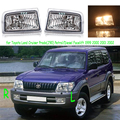 Для Toyota Land Cruiser Prado (J90) бензин/дизель Facelift 1999 2000 2001 2002 переднего бампера противотуманные фары Противотуманные фары галогенная лампа