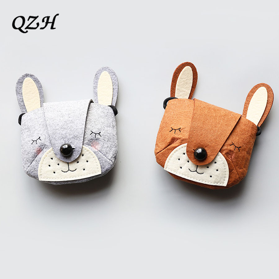 Home Monsisy Christmas Cat Children Handbag Wallet Girl Bag Coin Purse Cotton Bear Toy Kid Shoulder Bag Lovely Baby Toddler Small Bag High Quality