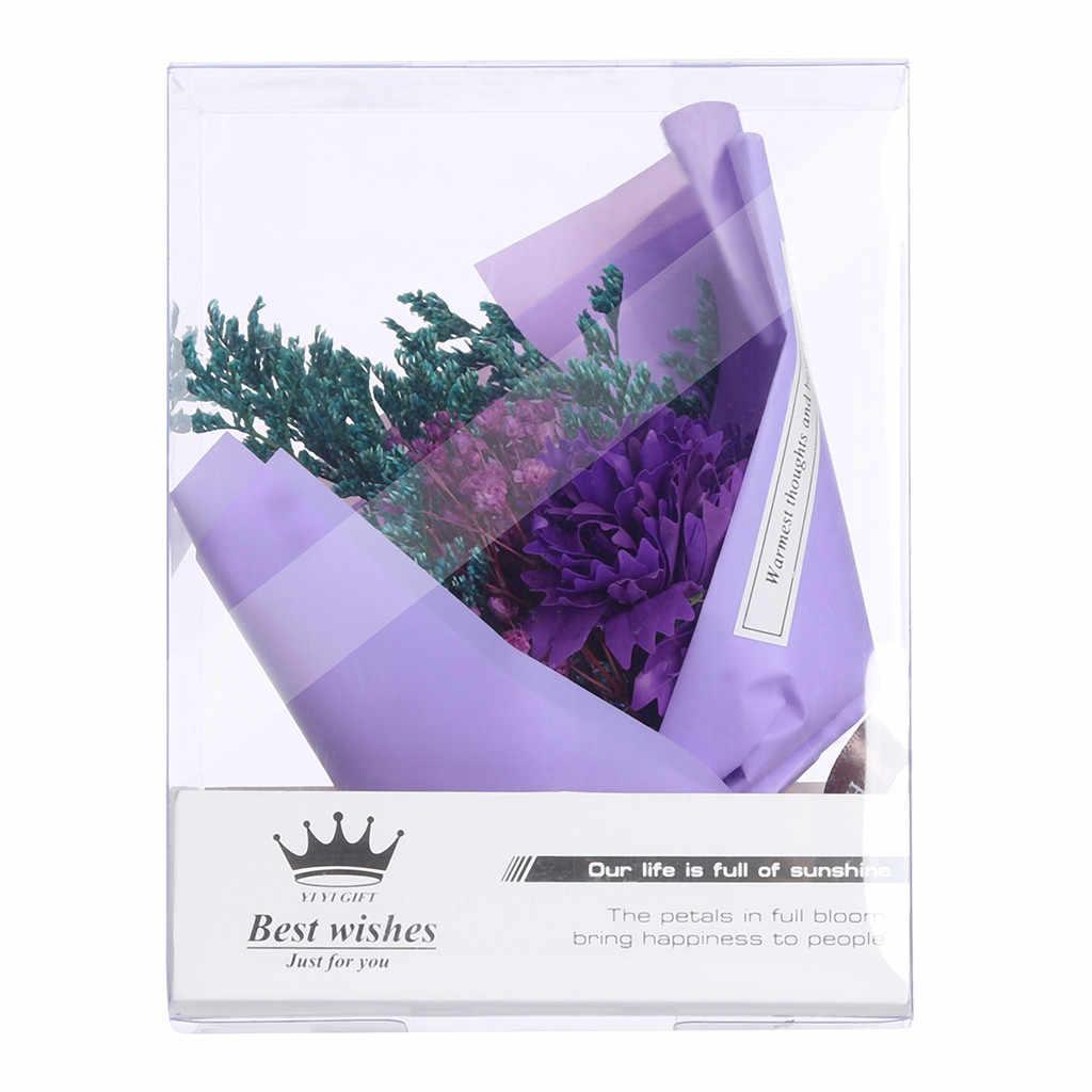 Красивый магазин владелец рекомендуемый Гвоздика креативный букет из сушеных цветов Подарочная коробка праздничный мини букет свадебные декоративные элементы