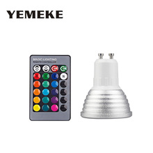 E14 E27 LED RGB Lamp 16 Color Changing Magic Light Bulb 85-265V 110V 220V RGB Led Light Spotlight for Home Home decoration B1 недорго, оригинальная цена