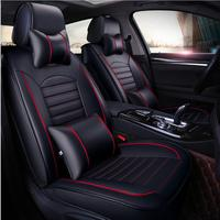 pu leather car seat covers for hyundai ix35 ix25 mercedes w211 skoda superb 2 toyota corolla vw auto accessories