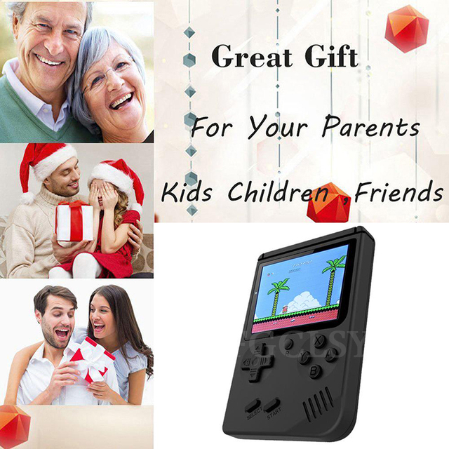 FGCLSY - Handheld Console with 168 Classic Games 4