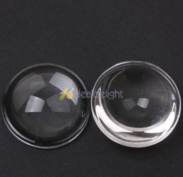 """Aukštos kokybės 30 mm aukščio 10 mm optinis stiklas Skaidrus LED objektyvo atšvaitas 5–90 laipsnių, skirtas didelės galios LED """"pasidaryk pats"""""""