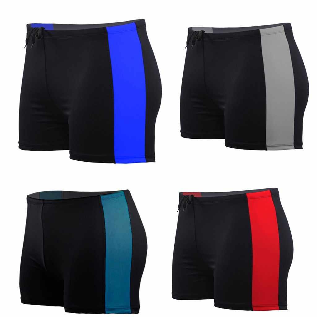 6b759e92f7d Men's Half Swim Trunks Quick Dry Beach Surfing Print Running Swimming men  swimming trunks swimwear #