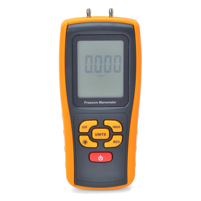 Digital Manômetro Medidor De Pressão De Ar Faixa De Medição 35kPa LCD Manômetro Medidor de Pressão Max 150KPa Interface USB ATC