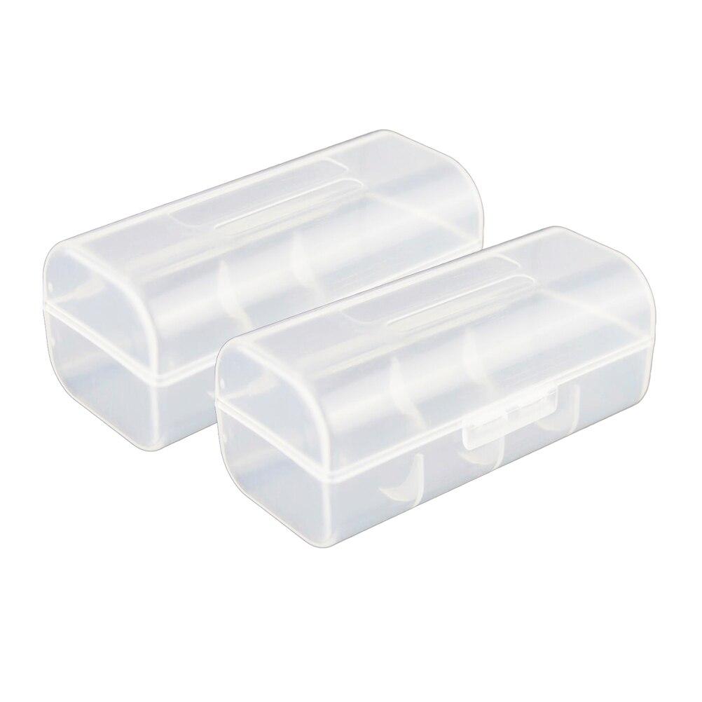 2 шт. 26650 Батарея Организатор Батареи держатель жесткого Пластик хранения Батарея Box Дело