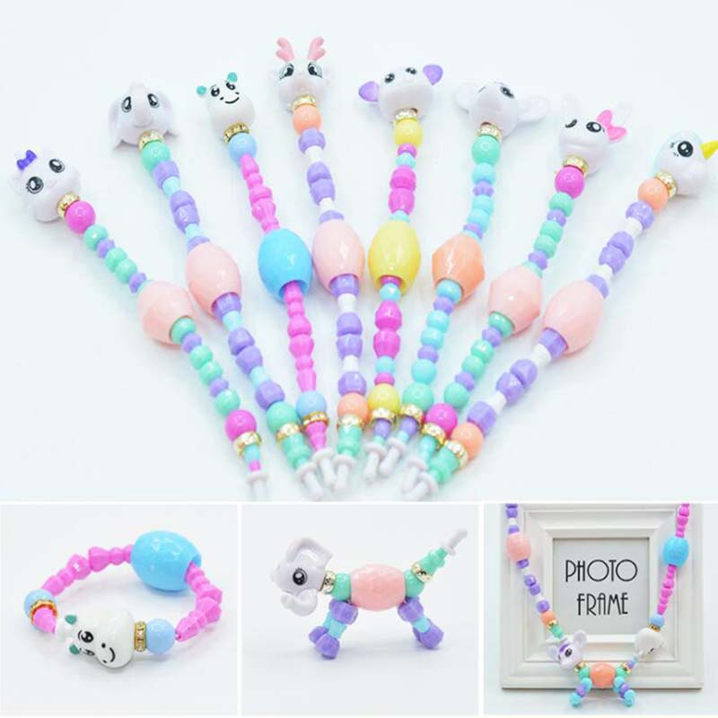 Animal Bracelet Jewelry Gifts Football Surprise Girls Kids for DIY Toy Hot New
