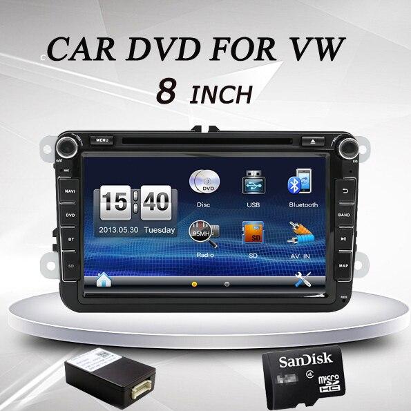 2 din 8 дюймов Автомобильный DVD gps плеер для Volkswagen VW Skoda POLO PASSAT CC JETTA Tiguan Touran Бора Ограниченная серия Гольф 5 6 4 Fabia Superb