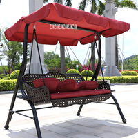 A66 Outdoor Cradle Hammock Indoor Lazy Imported PE Rattan Hanging Chair Bearing Weight 250kg High Strength Steel Bracket Swing
