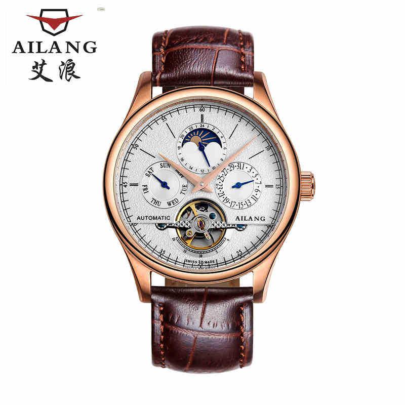 AILANG Designer de afaceri pentru bărbați Rochii de ceas auto - Ceasuri bărbați