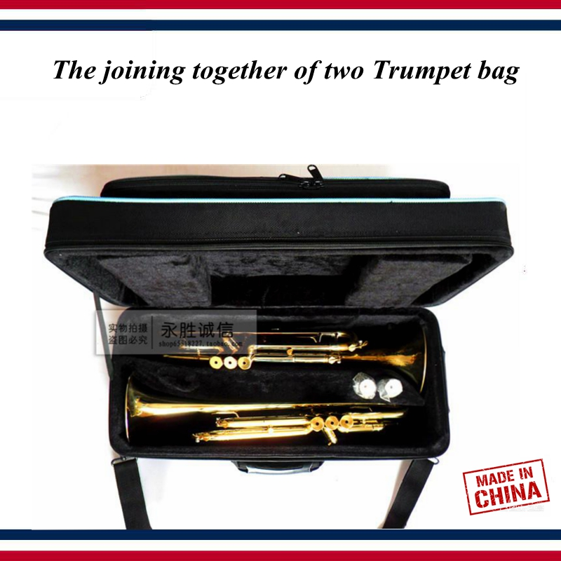 Trumpet Accessories - Trumpet Case - The Joining Together Of Two Trumpet  Box Bag , Multi-purpose - Trumpet Parts