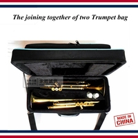 Trumpet accessories Trumpet case The joining together of two Trumpet box bag , multi purpose Trumpet parts