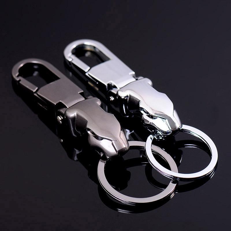 Fashion Keychains Metal Custom Keychain Car Key Chain Men Jewelry Keyring for Boyfriend Gift