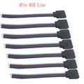 10 stücke 4-pin rgb-led-anschluss draht stecker kabel für 3528/5050 RGB led streifen 10 teile/los