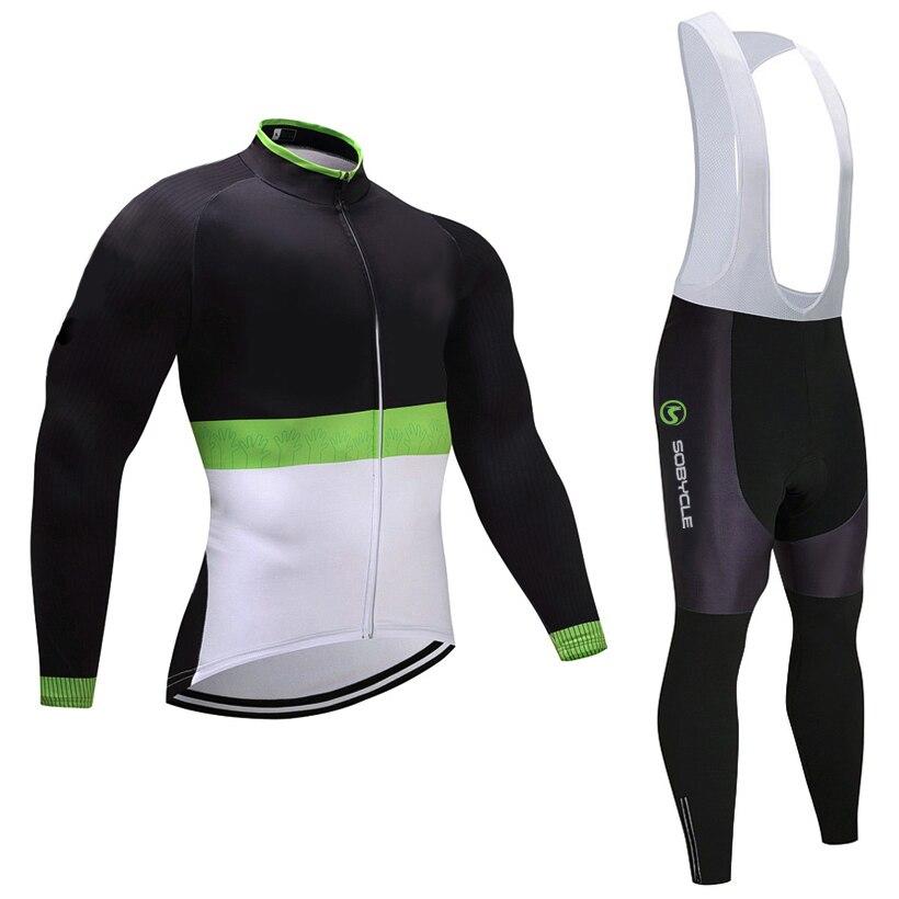 2018 Winter TEAM radfahren jersey 9D gel pad bike hosen set herren MTB Ropa Ciclismo atmungs Thermische fleece radfahren Maillot