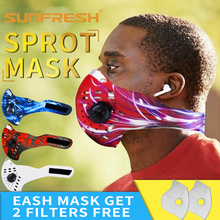 Sports mask Riding mouth cover unisex cycling filter Anti-cold Anti-dust Fashion face running breathable