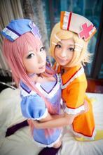 Disfraces de Halloween para las mujeres VOCALOID Hatsune Miku cosplay anime ropa traje de mucama uniformes de la enfermera para niñas de 5 colores