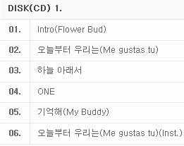 [MYKPOP] ~ 100% רשמי מקורי ~ GFRIEND מיני #2 פרח ניצן אלבום סט, KPOP אוהדי אוסף SA19061305
