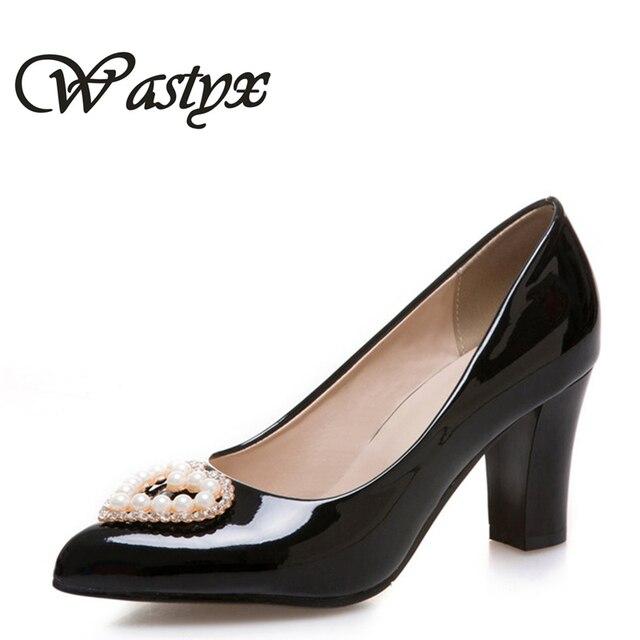 b17af00d Nueva Mujer Tacones Altos Zapatos de Novia Zapatos rojos Zapatos Deshierbe  moda punta estrecha mujeres Bombas
