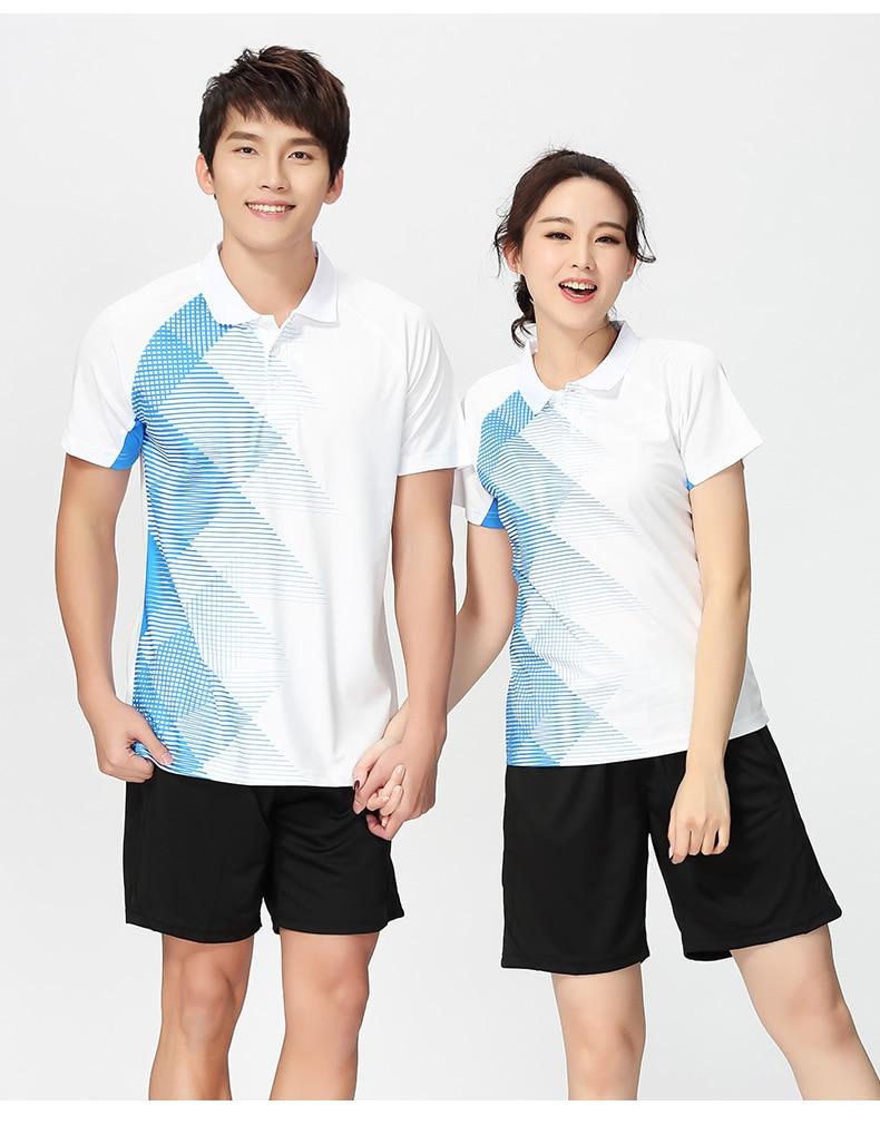 Women Men Tennis Shirts + Shorts , Badminton Shirts Suits , Table Tennis T Shirt Short, PingPong Jerseys Shirt SportWear Clothes