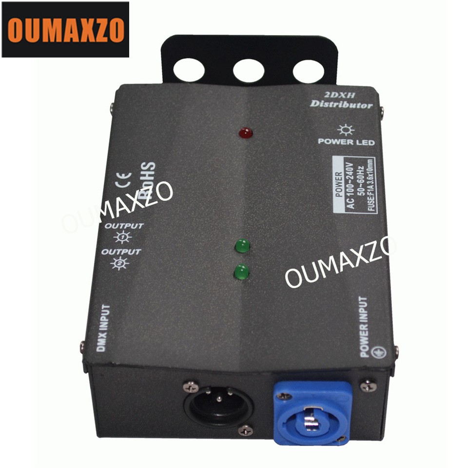 Здесь продается  OUMAXZO-1337 2DXH distributor Dmx Signal Driver Amplifier DMX Splitter Output 3pin Dmx stage machine equipment dj par dmx signal  Свет и освещение