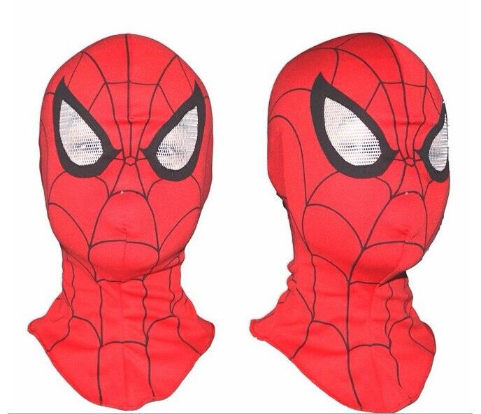 Free Fedex Wholesale 100pcs/lot Cosplay children and <font><b>adult</b></font> <font><b>Spiderman</b></font> mask /Spider-Man <font><b>Gloves</b></font> Cosplay Halloween Party Supplies