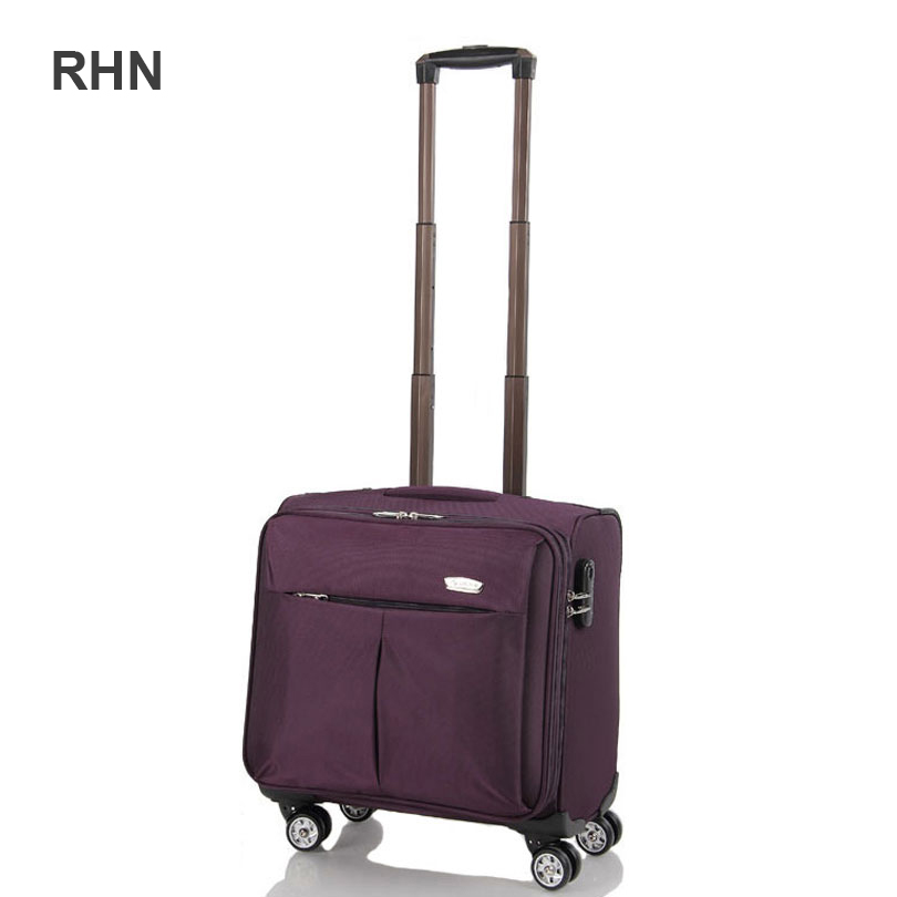 Aliexpress.com : Buy Women trolley luggage travel bag suitcase on ...