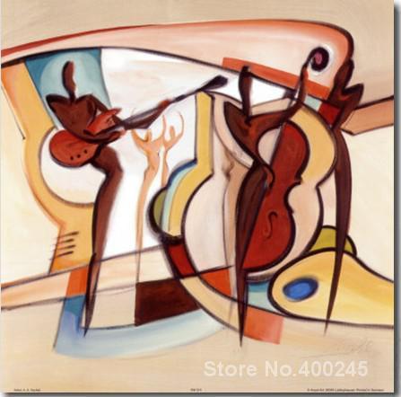 Peintures abstraites aveugle Willys panneau moyen toile art reproduction de haute qualité peint à la main