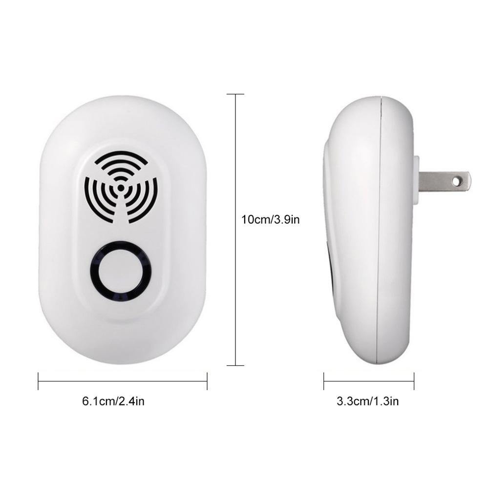 Image 4 - New Ultrasound Mouse Cockroach Repeller Device Spiders Mice Rodents Insects Killer Odorless Household Ultrasonic Pest Repeller-in Repellents from Home & Garden