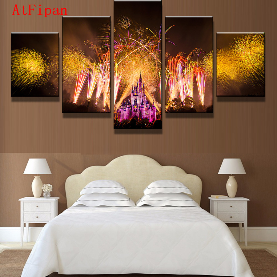 popular castle painting pink-buy cheap castle painting pink lots