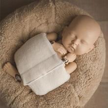 Новорожденный Фотография обертывание s студия аксессуары для фото Детские Обертывания ткань вспомогательные реквизит новорожденный обертывание реквизит младенческий ремень Регулируемый
