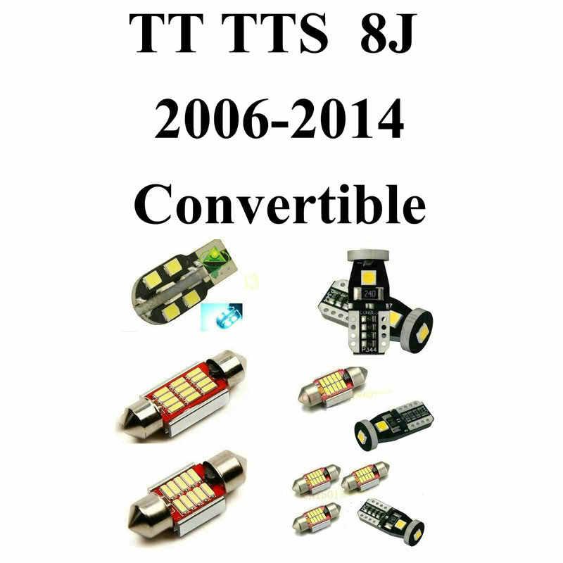 Суперяркие светодиодные интерьерные Автомобильные фары для Audi TT TTS 8j Кабриолет