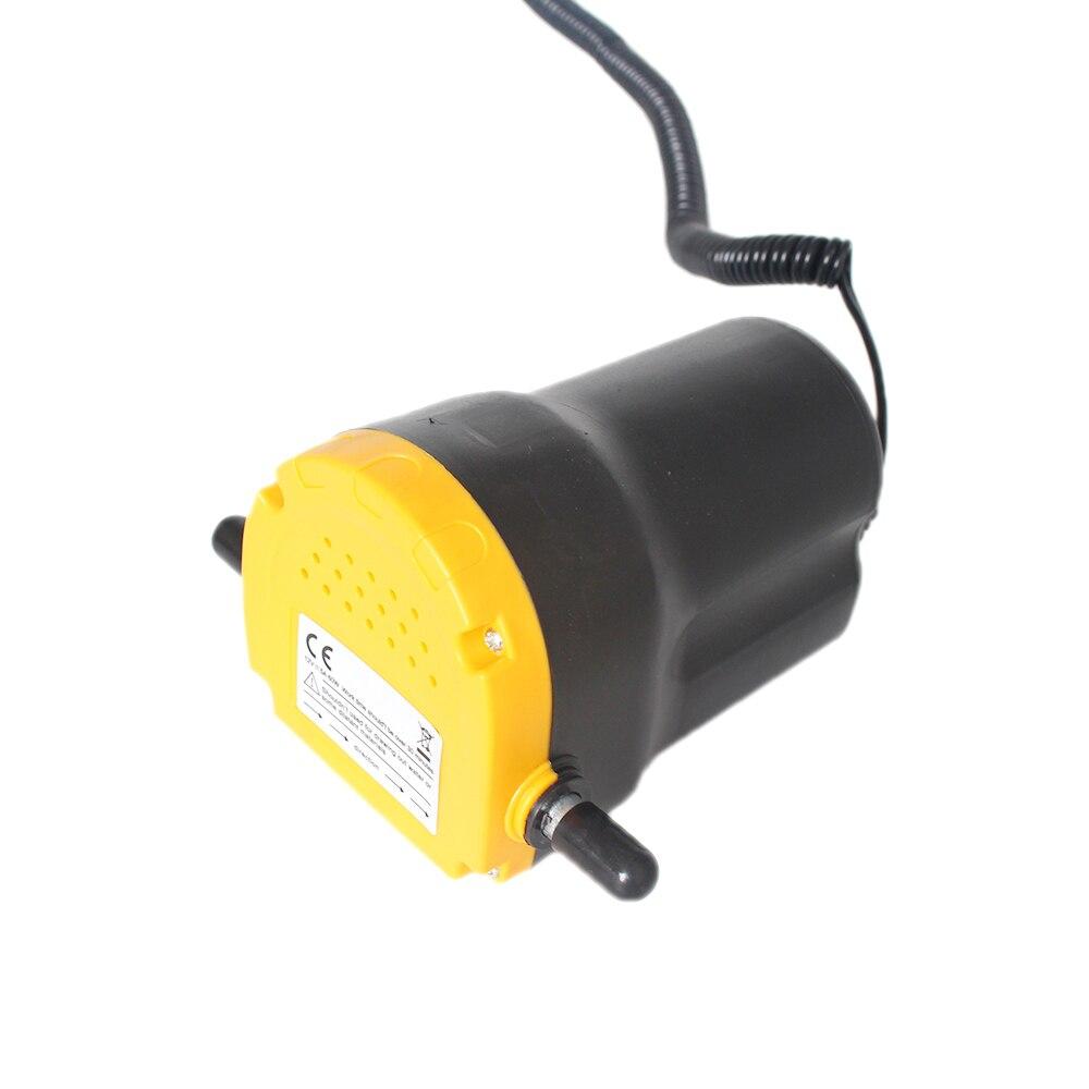 Moteur pompe à huile, 12 v/24 électrique Huile/Diesel Fluide Puisard Extractor Charognard Échange de Transfert De carburant d'aspiration pompe, Voiture Bateau Moto