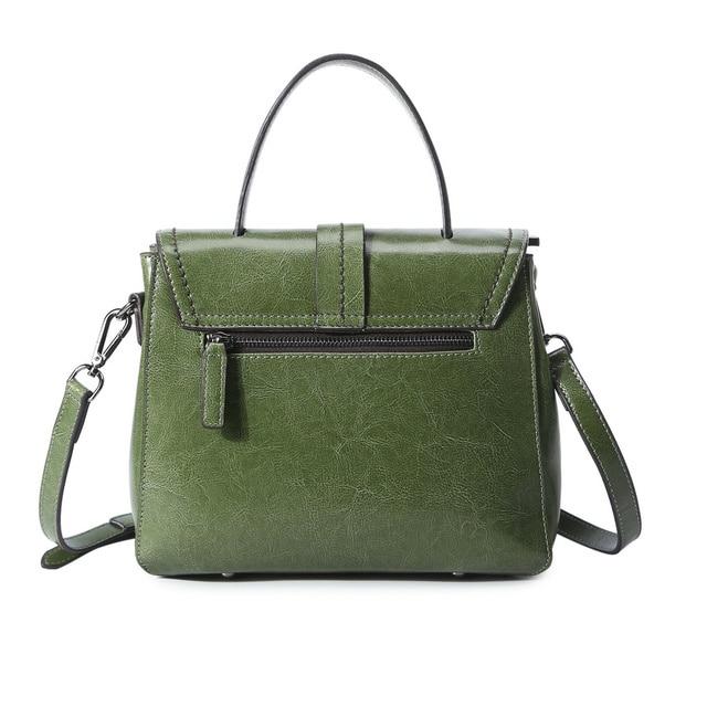 QIAOBAO 2017 Newest Cowhide Leather Handbag Ladies Tide Leisure Bag Women Fashion Portable Messenger Bag Shoulder Leather Bag