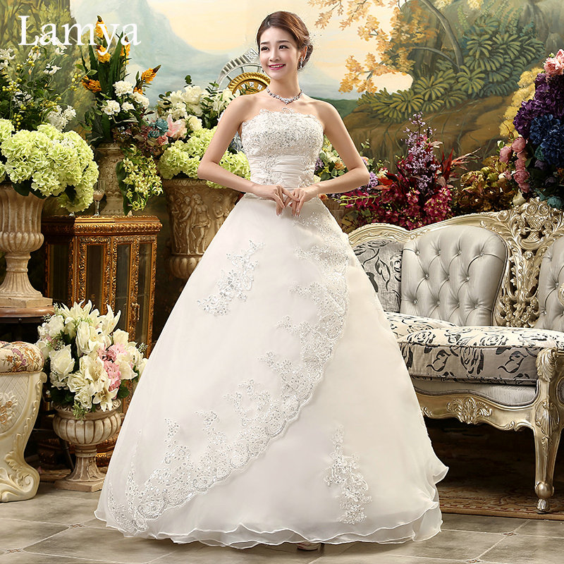 Vintage Wedding Gowns Pictures: Aliexpress.com : Buy Real Photo Customized Princess Lace