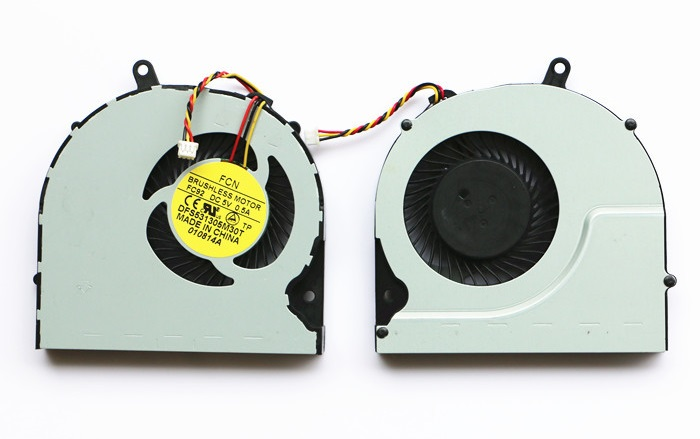 SSEA New CPU Cooling Cooler Fan for Toshiba Satellite P50 P55 P55T S50 S55 P50-A P50T S50D S50T S55D S55T Laptop CPU Fan