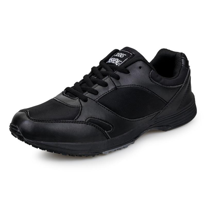En plein air nouveau automne hiver noir baskets chaussures Combat militaire formation Fitness chaussures hommes chaussures de course noir Sport chaussures hommes